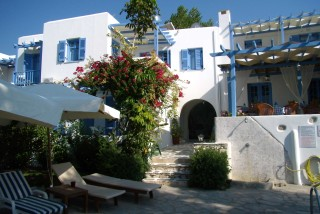 family hotel panorama in paros