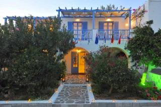 panorama hotel on paros island